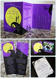 nightmare before christmas wedding invitations best 25 nightmare before christmas wedding ideas on
