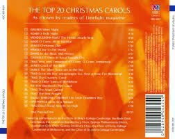 the top 20 christmas carols various artists songs reviews
