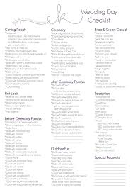 wedding day planner best 25 wedding day checklist ideas on wedding
