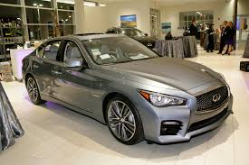 park place infiniti dealership showcases infiniti q50 hybrid