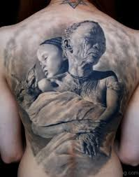 48 stylish back tattoos
