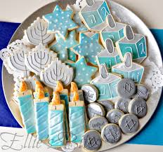 chanukah cookies shiny chanukah cookies ellie s bites decorated cookies