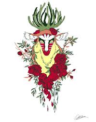 spirit of halloween halifax forest spirit princess mononoke tattoo inspiration pinterest
