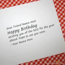 what to write in a friends birthday card u2013 gangcraft net