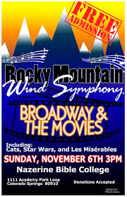 rocky mountain wind symphony concert presented by rocky mountain