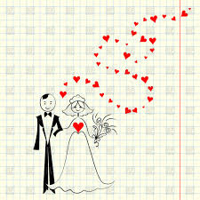 wedding card to groom wedding card sketch of childlike picture with the and