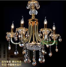 Elegant Lighting Chandelier Led Bulb 6 Lights Chandelier Gold Glass Arms Chandeliers Classical