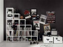 Cool Guy Rooms by Teenage Bedroom Designs Black And White Interior Design