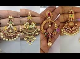 earrings app top 30 designer chandbali earrings designs in 1 gram gold with