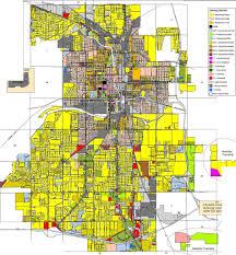 Saginaw Michigan Map by Michigan City Zoning Maps Michigan Urbanplanet Org