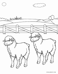 free printable sheep face coloring pages kids cool2bkids