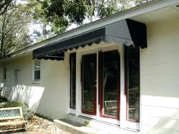 Metal Awnings For Patios Awning For Back Door Awning For French Doors The Concave Metal