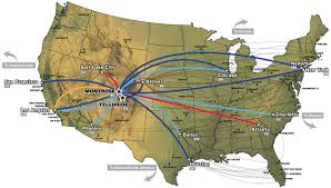 Delta Routes Map by Flight Schedules Montrose County Official Website