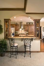 Mirror Backsplash In Kitchen by Cherry Wood Honey Yardley Door Kitchen Pass Through Ideas Sink