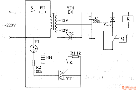 electric circuit wiring diagram components