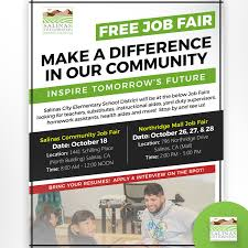 two job fairs during the rest of october bring your resume and
