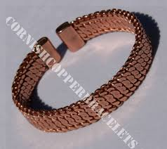 solid copper bracelet images Magnetic copper bracelets magnetic solid copper woven bracelet jpg