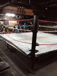 the worst part of indie wrestling building that damn ring