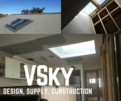 design supply and construction of custom velux skylight in
