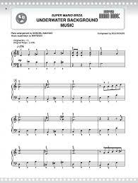 super mario series easy piano presto sheet music