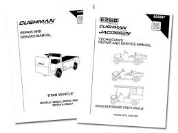 buy genuine golf cart repair manuals direct from e z go