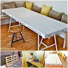 Diy Foldable Picnic Table by 50 Wonderful Pallet Furniture Ideas And Tutorials