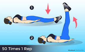 Floor Wipers 50 Reps by 5 Minutes Flat Abs Workout That Can Help You Get Fit