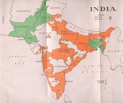 British India Map by Pakistan Or The Partition Of India By Dr B R Ambedkar