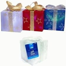 light up gift box set of 4