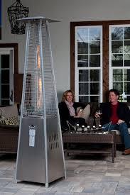 Pyramid Flame Patio Heater Fire Sense Stainless Steel Pyramid Flame Propane Patio Heater