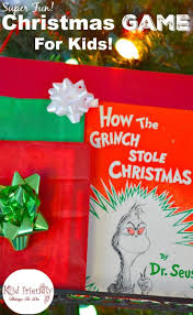 a fun holiday game for kids using