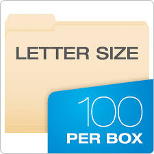 amazon com pendaflex file folders letter size 1 3 cut manila amazon com pendaflex file folders letter size 1 3 cut manila 100 per box 752 1 3 office products