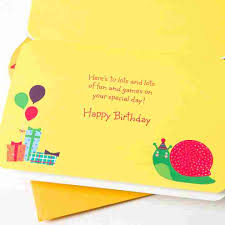 birthday cards for kids snail puzzle kids birthday cards papyrus