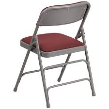 Folding Chair Fabric Hercules Series Curved Triple Braced U0026 Double Hinged Burgundy