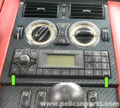 mercedes benz slk 230 radio removal 1998 2004 pelican parts