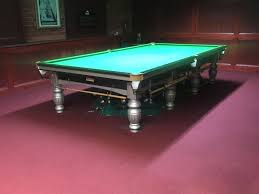 how big is a full size pool table riley aristocrat full size silver snooker table