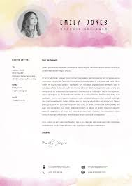 resume color paper water color resume template cv cover letter by showy68template water color resume template cv cover letter