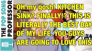 Kitchen Sink Twenty One Pilots Album by Kitchen Sink Is A Kitchen Sink Explanation Youtube