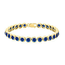 gold sapphire bracelet images Cheap yellow gold sapphire bracelet find yellow gold sapphire jpg