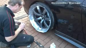 dcg1 how to paint alloy wheels on a nissan gtr u0027 with alloy wheel