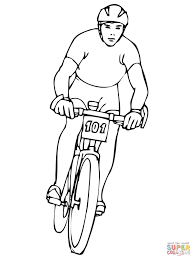 bicycles coloring pages free coloring pages