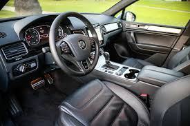 volkswagen tiguan black interior 2014 volkswagen touareg tdi r line review 7 things to know