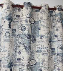 Kitchen Window Curtain Panels by Aliexpress Com Buy Vezo Home New Map Cotton Linen Ready Window