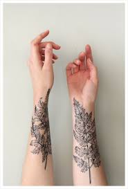 43 awesome leaves wrist tattoos