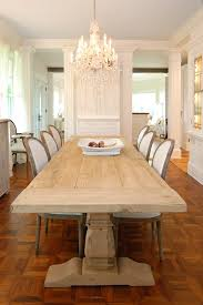 dining table outside dining room shabby chic style with wood