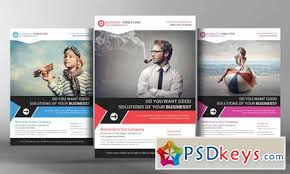 corporate business flyer template 96395 free download photoshop