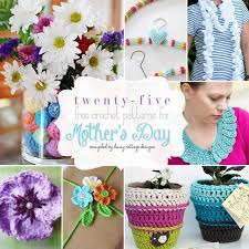 special mothers day gifts 25 free crochet patterns for s day cottage designs
