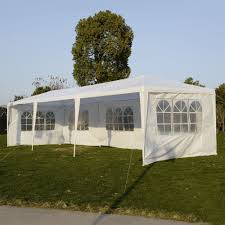 Patio Tent Gazebo 10 X30 Wedding Outdoor Patio Tent Canopy Heavy Duty Gazebo