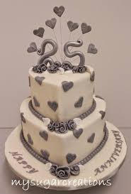 25 wedding anniversary cakes for 25th wedding anniversary wedding corners