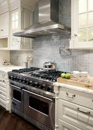 backsplash for cream cabinets cream and blue kitchen backsplash tiles design ideas